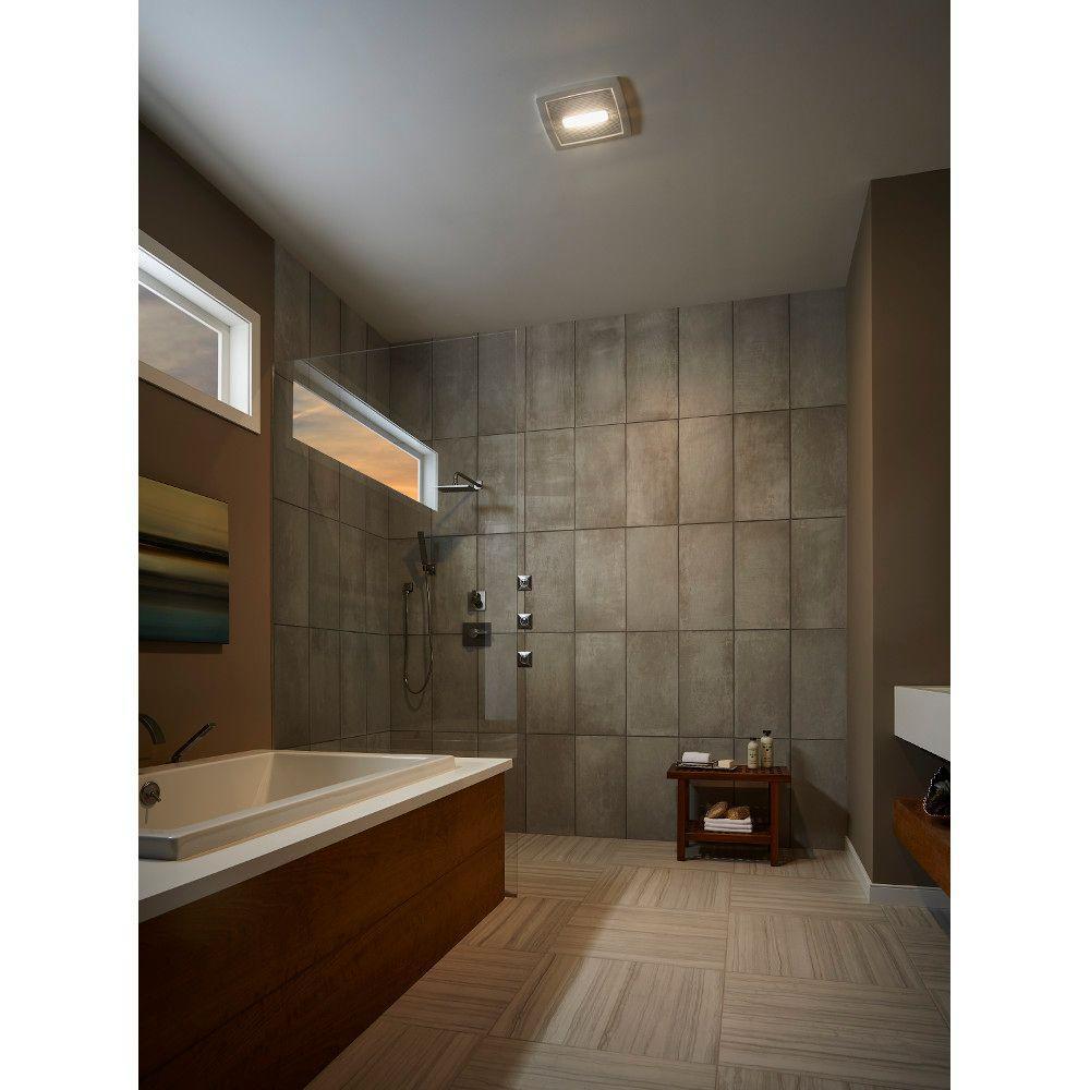 Bathroom Fan Installation Service: NuTone Roomside Series 110 CFM Ceiling Bathroom Exhaust