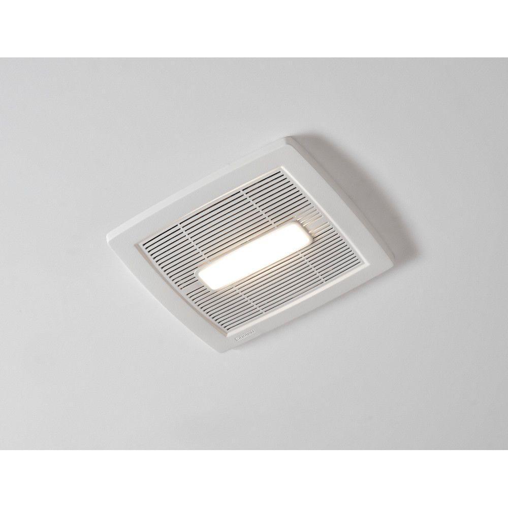 Energy Efficient Bathroom Exhaust Fans: NuTone Roomside Series 110 CFM Ceiling Bathroom Exhaust
