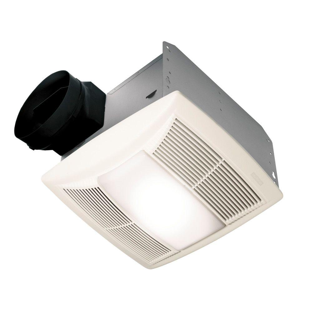 Bathroom Fan Installation Service: NuTone QT Series Quiet 130 CFM Ceiling Bathroom Exhaust